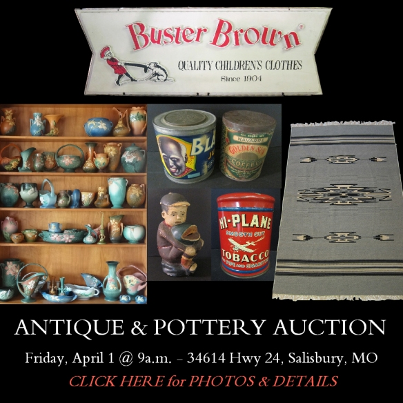 APRIL 1 BOB JONES AUCTION