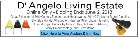 D'Angelo Estate Auction