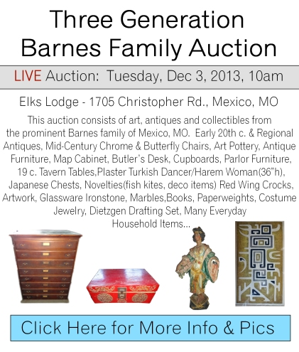 Barnes Live Auction