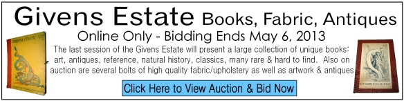 Givens Book Fabric Auction