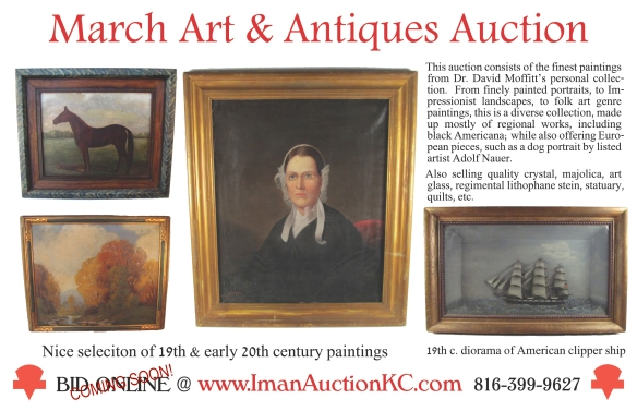 half page flyer March auction coming soon