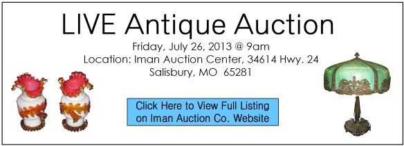 July 2013 Live Auction