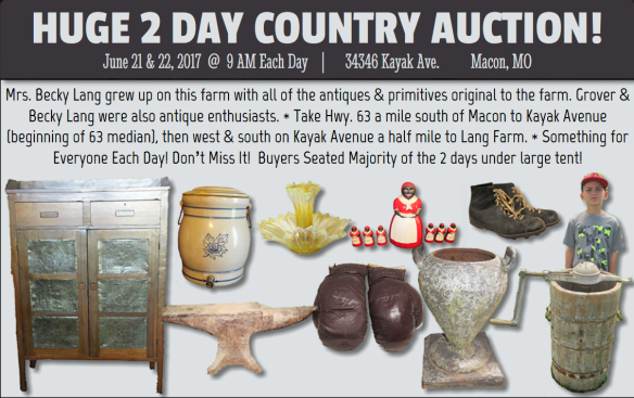 Lang 2-day Antique Auction