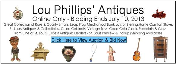Lou Phillips' Antiques Online Auction