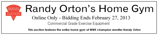 Orton Gym Auction