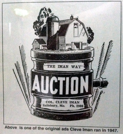 The Iman Way Auction Ad KC