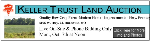Keller Farm Land auction