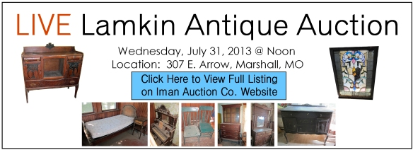 July 31 live auction