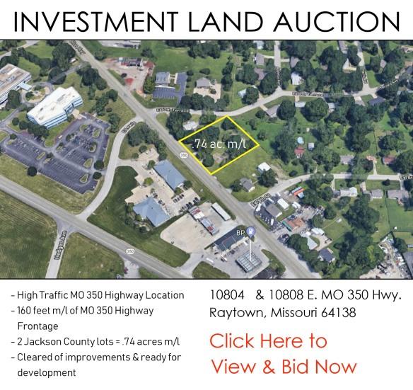website button - bid now - hwy 350 land auction